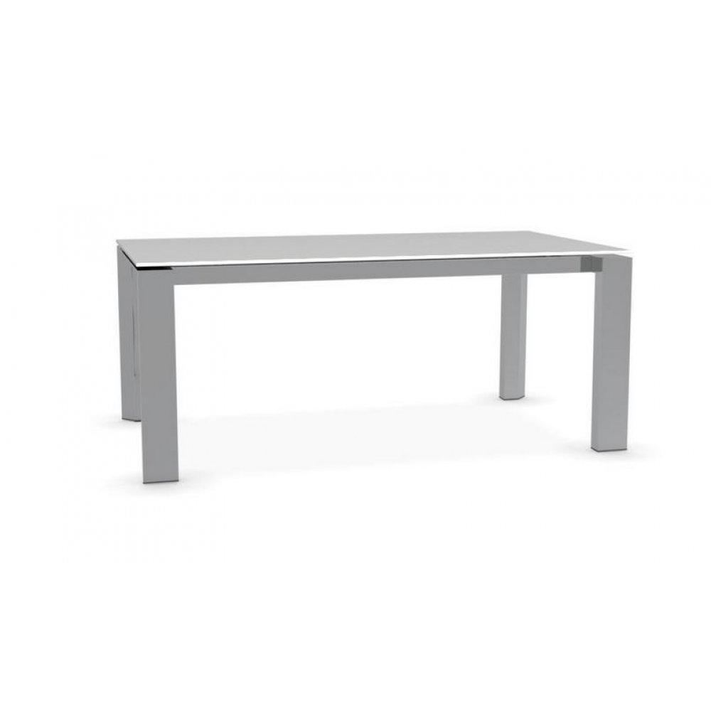 Table de repas design au meilleur prix table repas for Table en verre extensible design