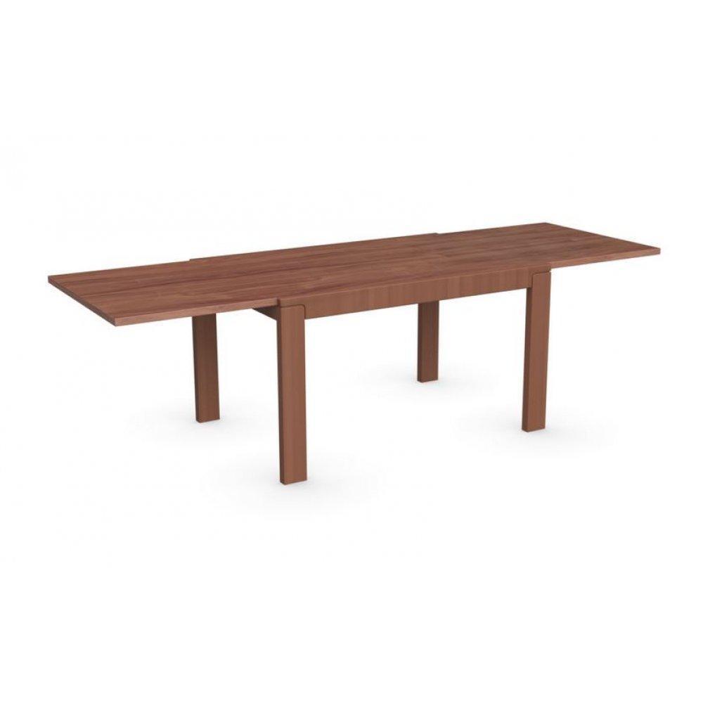 table de repas design au meilleur prix table repas extensible vero 130x90 merisier inside75. Black Bedroom Furniture Sets. Home Design Ideas