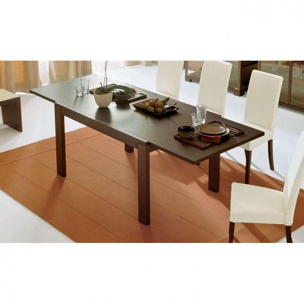 Table de repas design au meilleur prix table repas - Table extensible wenge ...