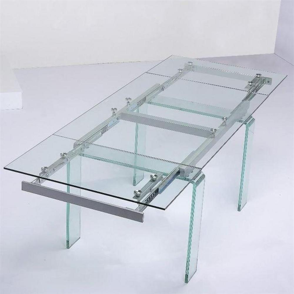 Table de repas design au meilleur prix inside75 for Table salle a manger en verre avec rallonge