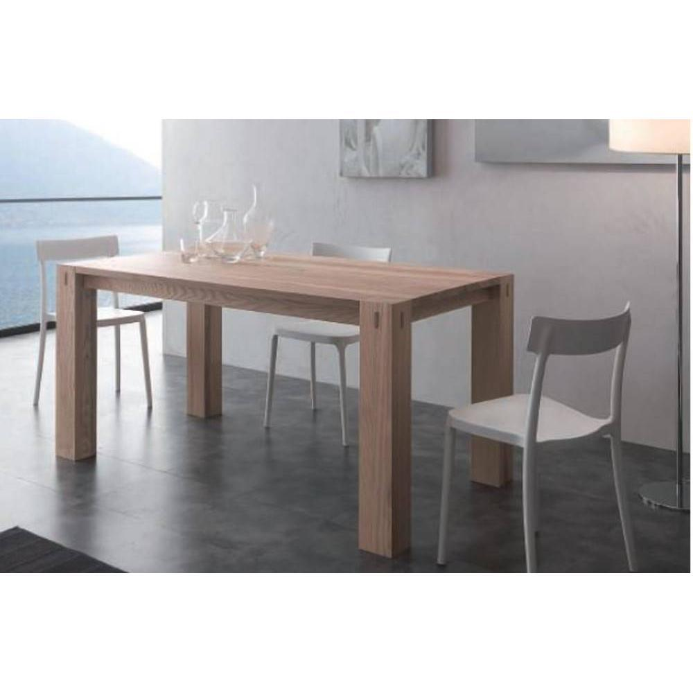 Table extensible et de r ception au meilleur prix table for Table bois massif extensible