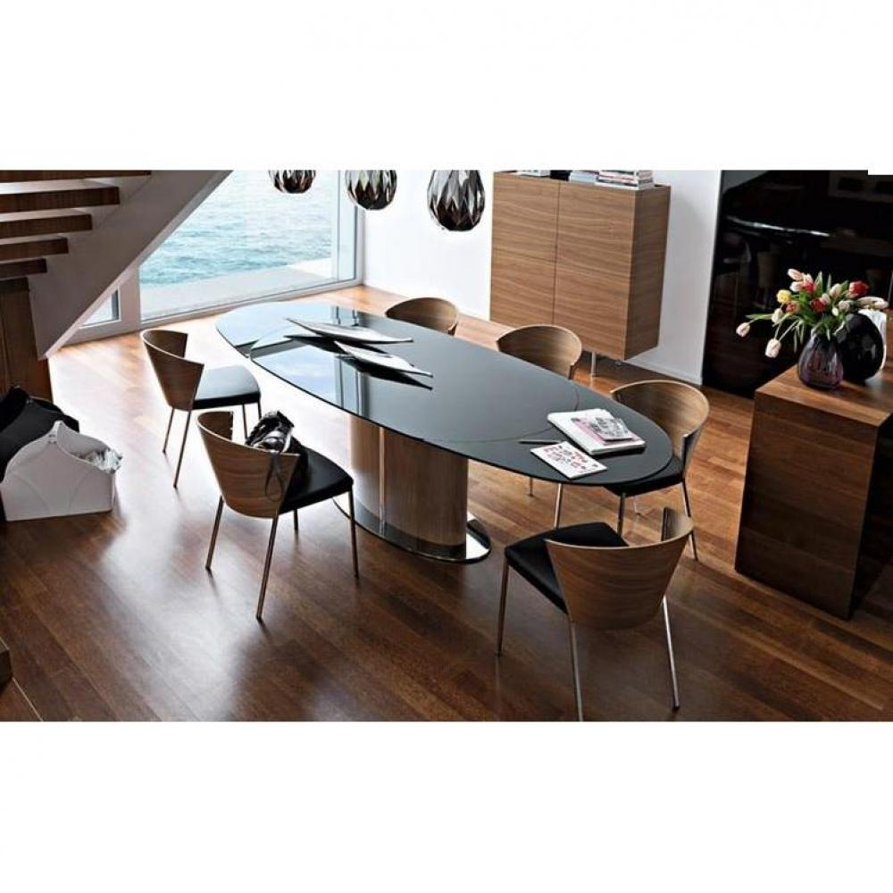 table de repas design au meilleur prix calligaris table repas ovale extensible odyssey inside75. Black Bedroom Furniture Sets. Home Design Ideas