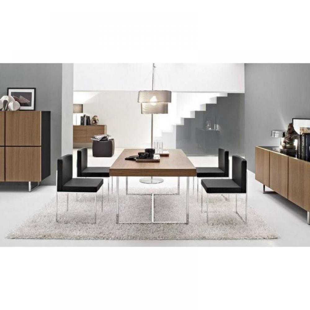 table de repas design au meilleur prix table repas parentesi de calligaris 200x100 noyer. Black Bedroom Furniture Sets. Home Design Ideas