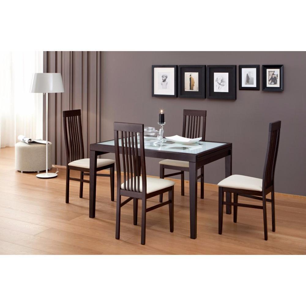 table de repas design au meilleur prix table repas extensible poker 120 inside75. Black Bedroom Furniture Sets. Home Design Ideas