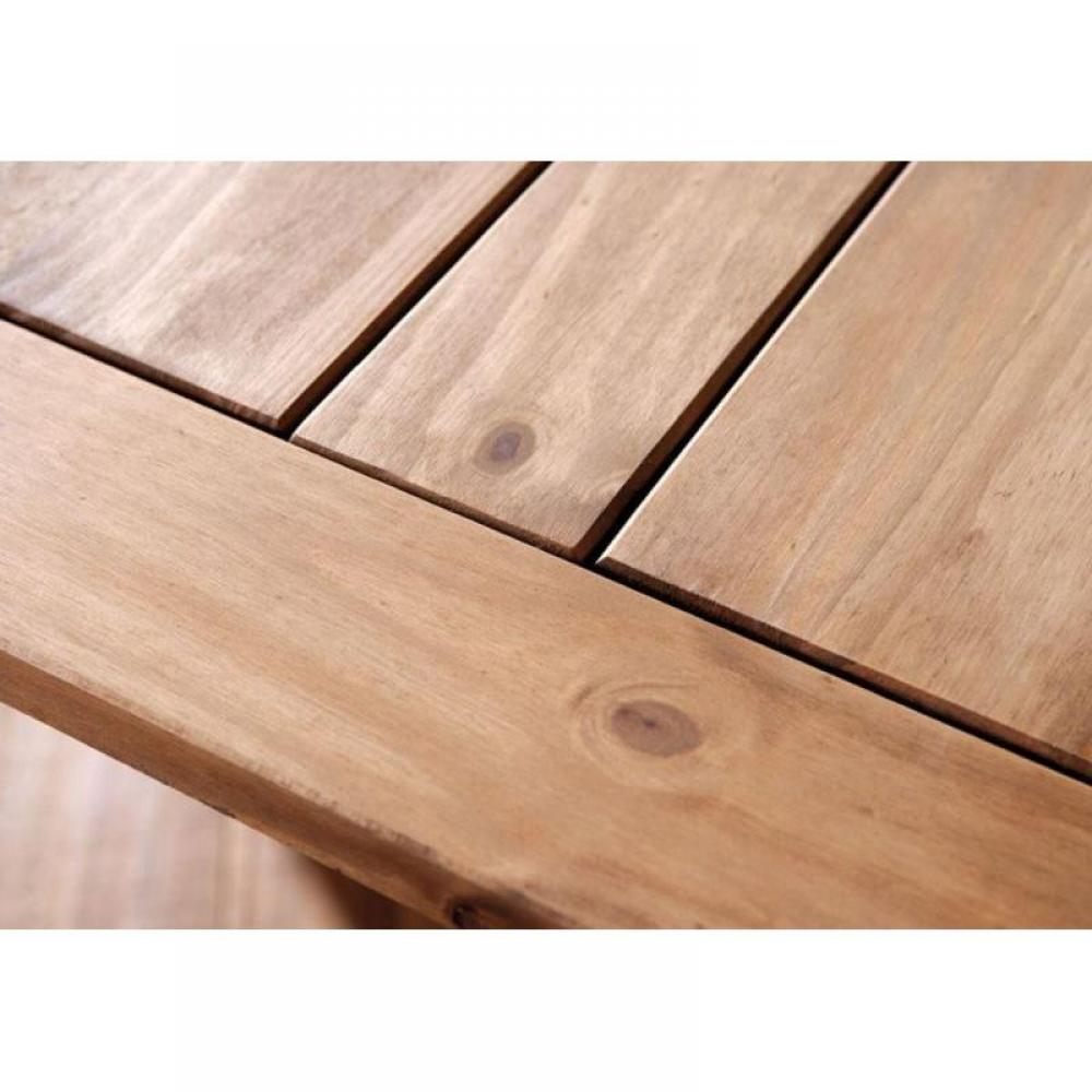 Table Rustique Bois Massif - Table de repas design au meilleur prix, Table repas rustique MEX en pin massif Inside75