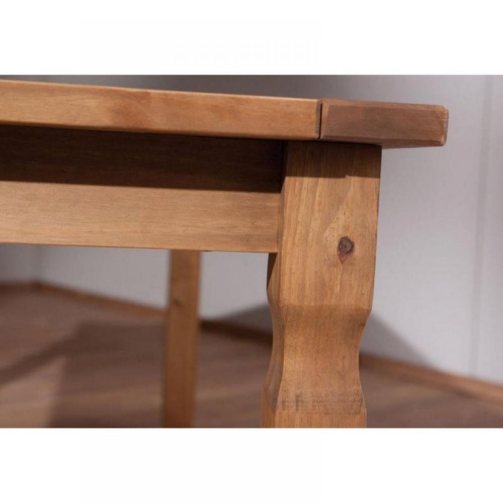Table de repas design au meilleur prix, Table repas rustique MEX en pin massif Inside75 # Table Rustique Bois Massif