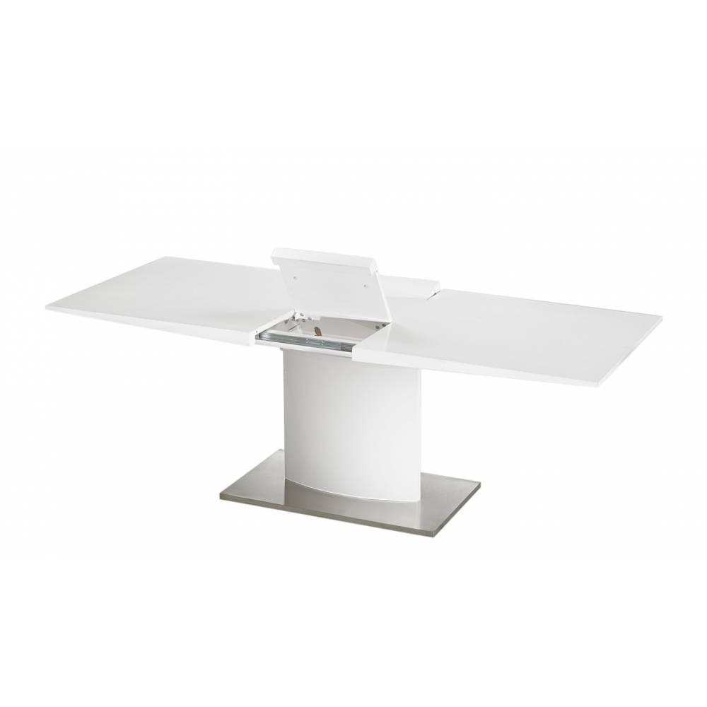 tables design au meilleur prix table extensible sina design blanche inside75. Black Bedroom Furniture Sets. Home Design Ideas