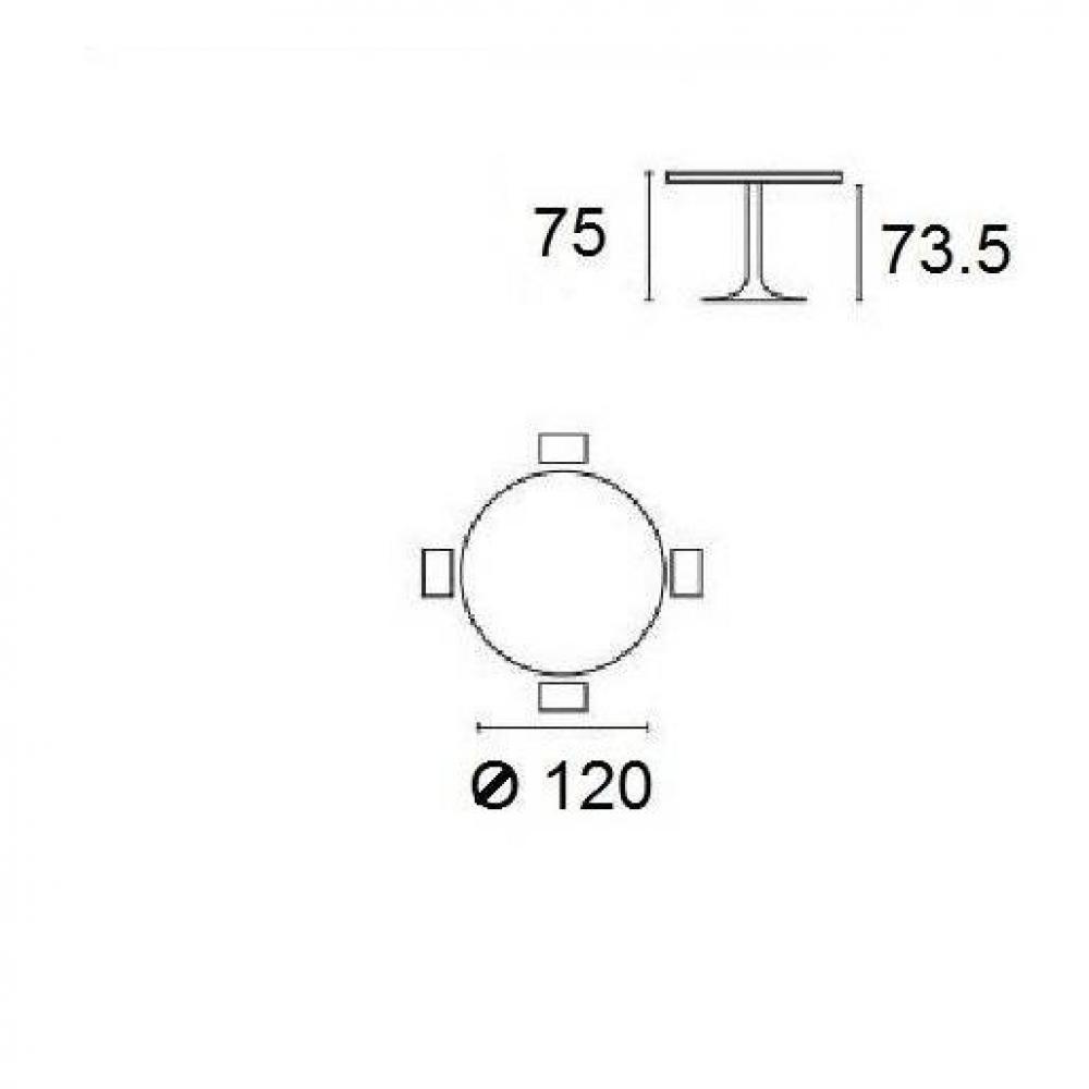 Tavolo Planet Calligaris Bianco.Divani Letto Sistema Rapido Armadi Letto E Comodini Inside75