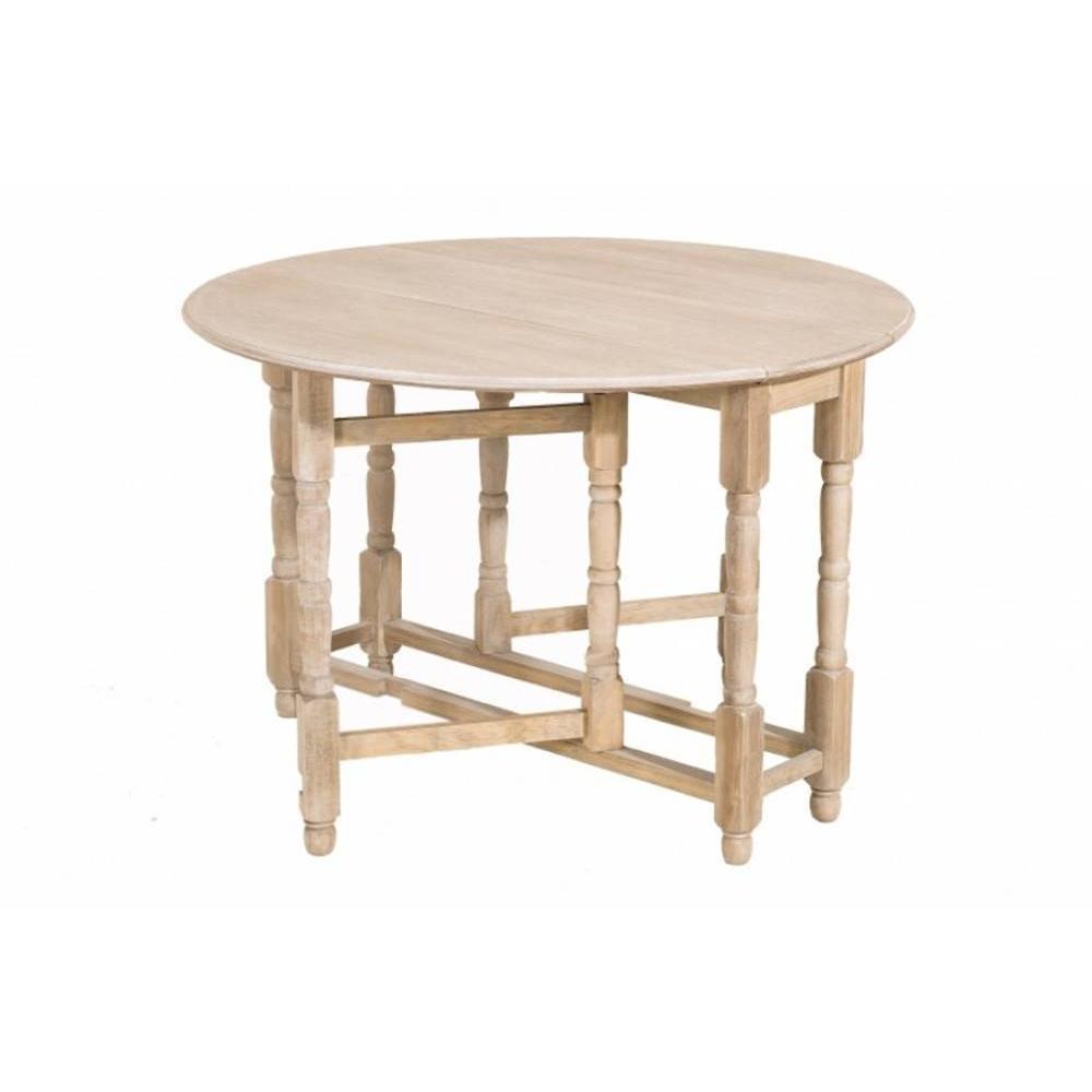 Table pliante pratique en bois ou m tal au meilleur prix - Table ronde pliante en bois ...