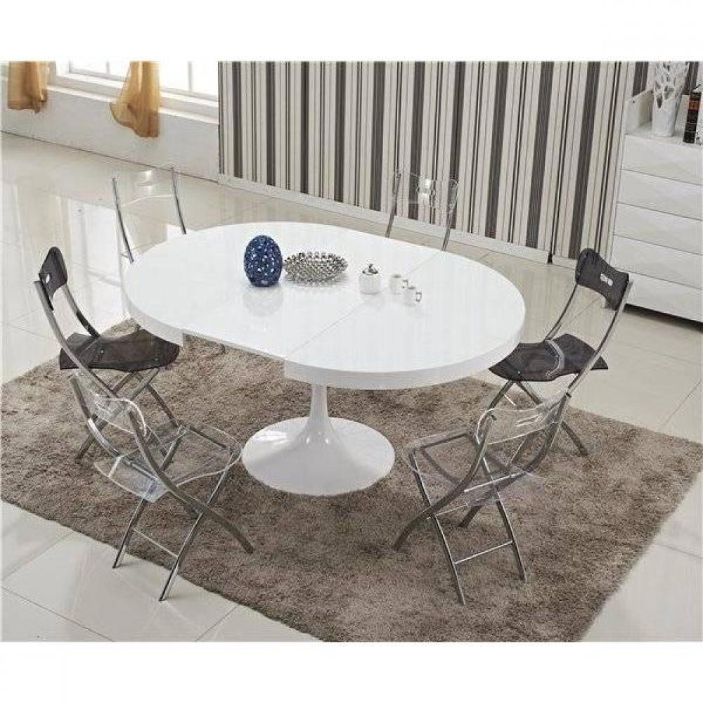 Tables design au meilleur prix table ronde extensible for Table ronde extensible design