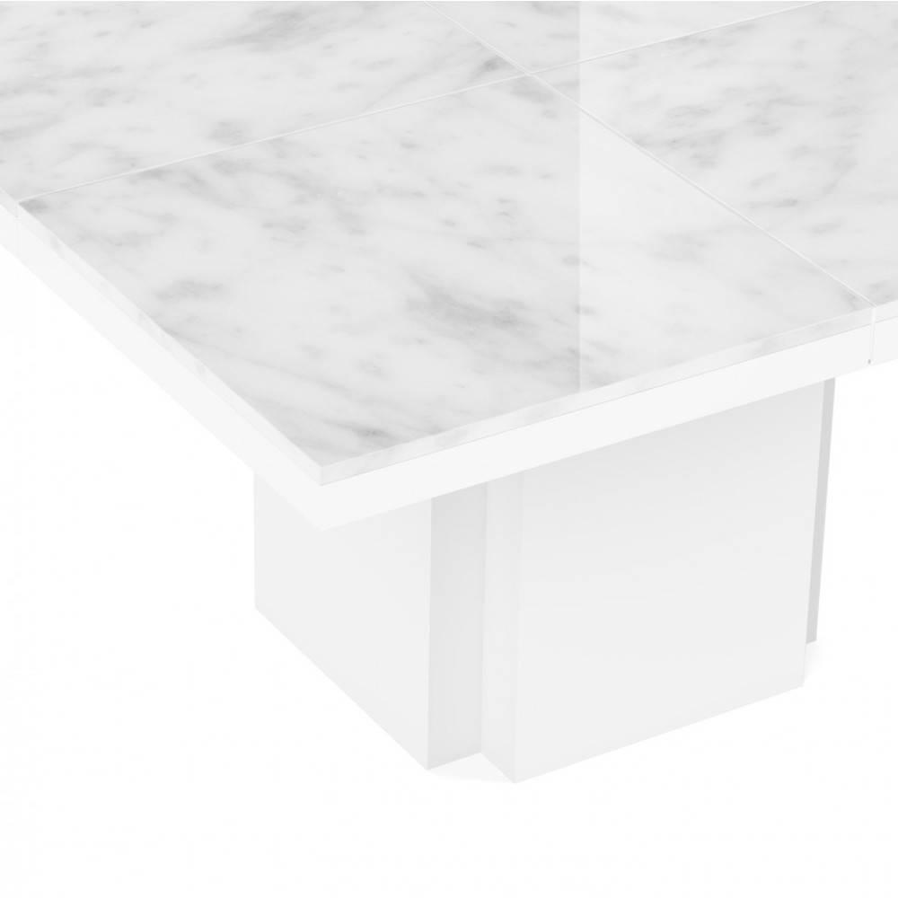 canap s convertibles ouverture rapido table de repas wido plateau marbre blanc inside75. Black Bedroom Furniture Sets. Home Design Ideas