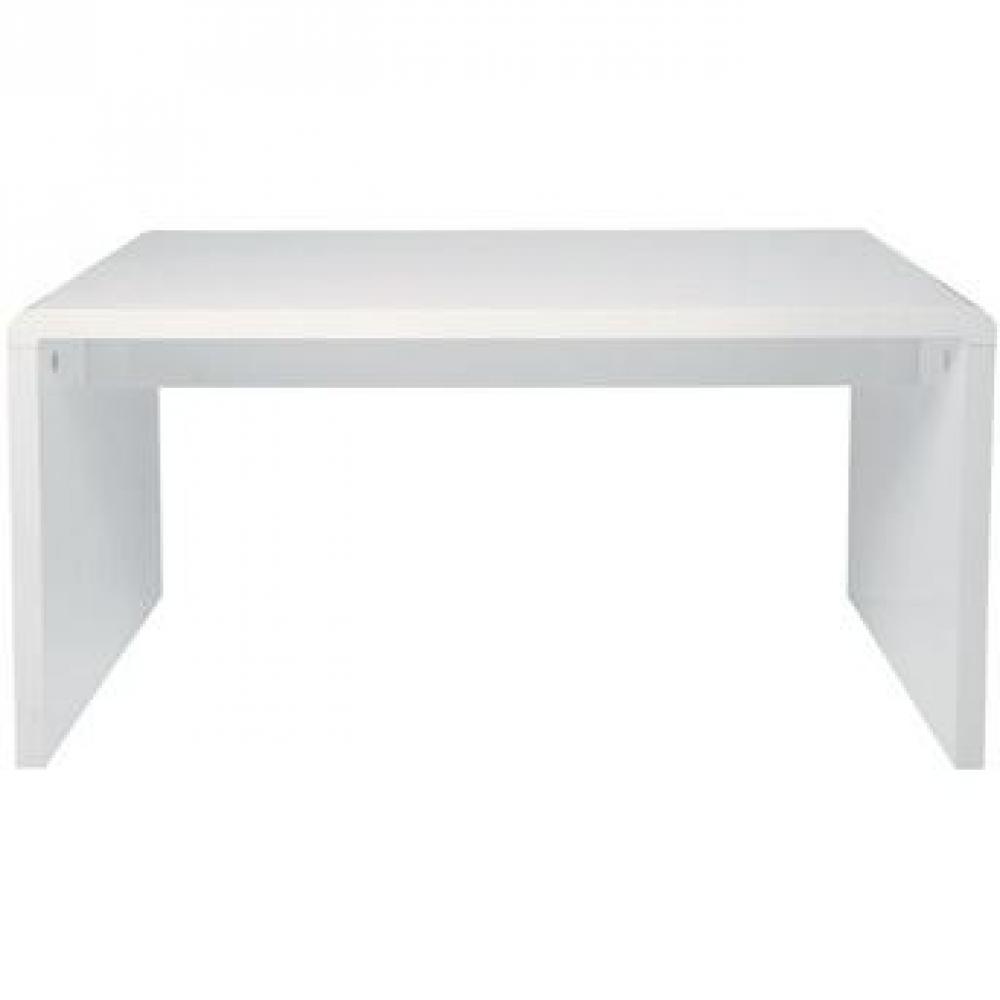 Bureaux meubles et rangements white office desk 150 cm for Bureau reserve 13 rdp