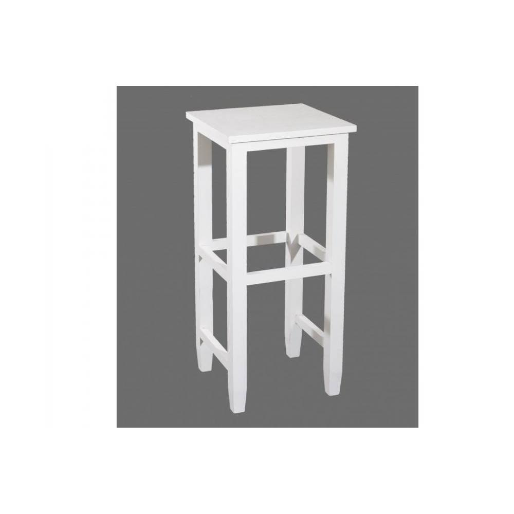 tabouret de bar design tendance retro au meilleur prix tabouret de bar eva en bois blanc. Black Bedroom Furniture Sets. Home Design Ideas