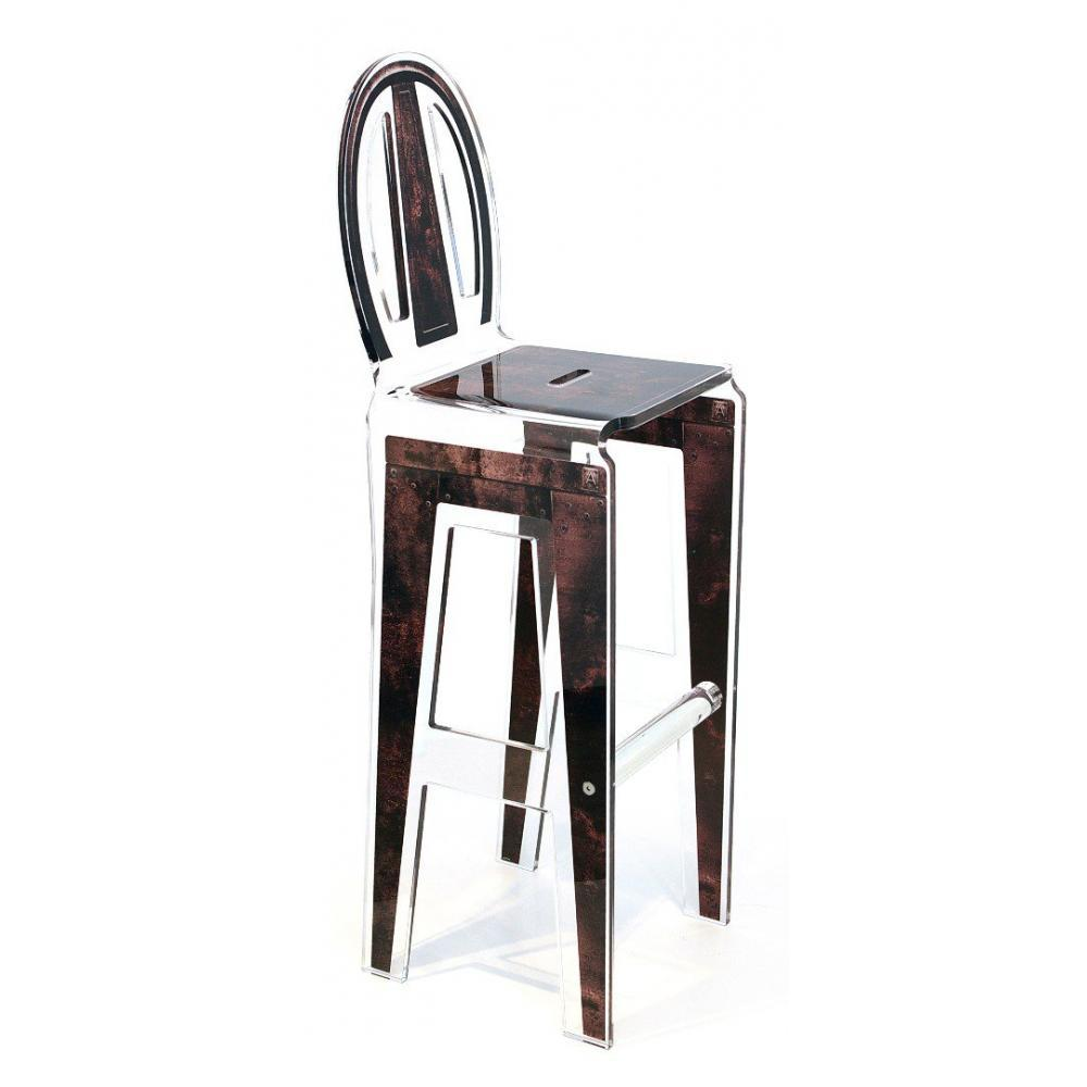 chaises meubles et rangements tabouret de bar marron en. Black Bedroom Furniture Sets. Home Design Ideas