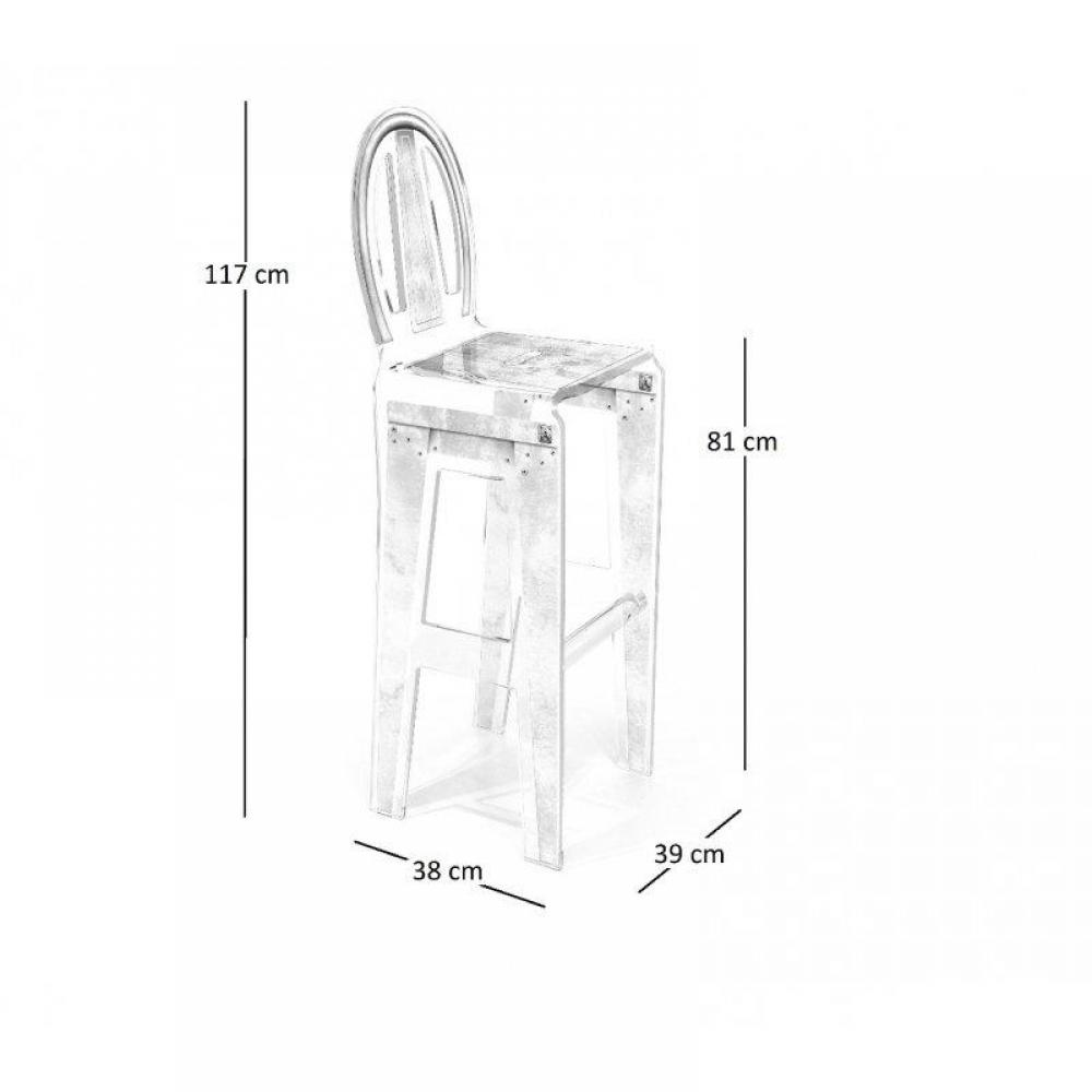 tabouret de bar design, tendance & retro au meilleur prix ... - Chaise De Bar Transparente