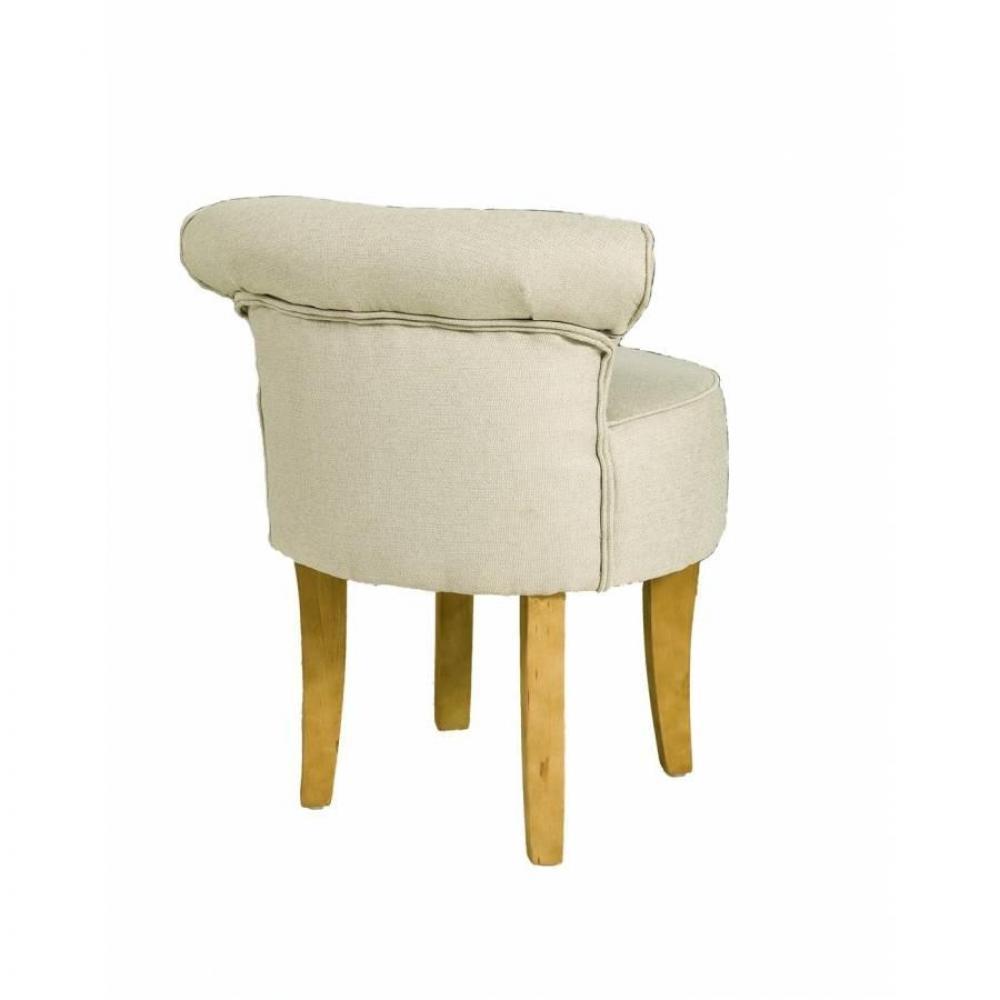 fauteuils et poufs canap s et convertibles tabouret rond avec dossier zoe tissu coloris. Black Bedroom Furniture Sets. Home Design Ideas