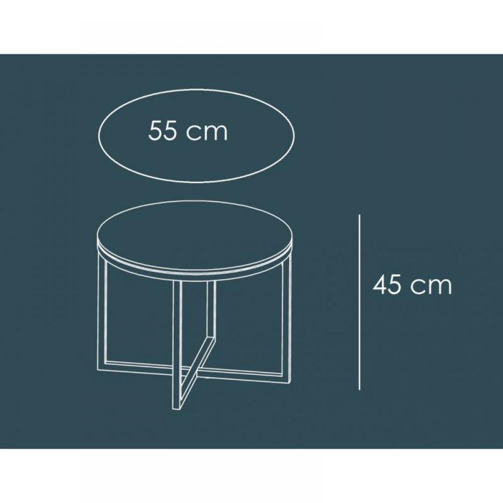 tables basses meubles et rangements talulah table basse. Black Bedroom Furniture Sets. Home Design Ideas