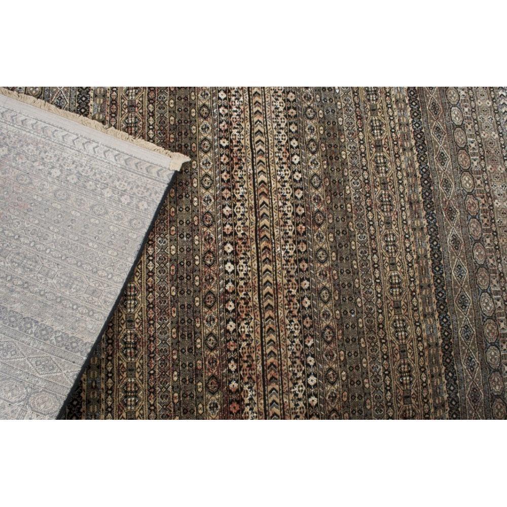 DUTCHBONE Tapis SHISHA marron  ( 160 x 235 )