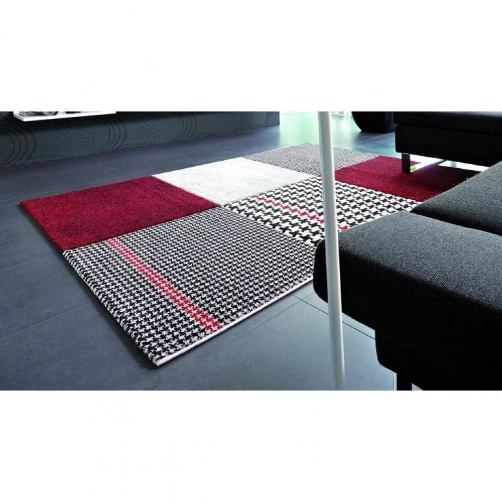tapis de sol meubles et rangements maison tapis patchwork bordeaux inside75. Black Bedroom Furniture Sets. Home Design Ideas