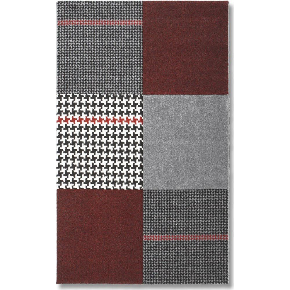 tapis de sol meubles et rangements maison tapis patchwork bordeaux inside75. Black Bedroom Furniture Sets. Home Design Ideas