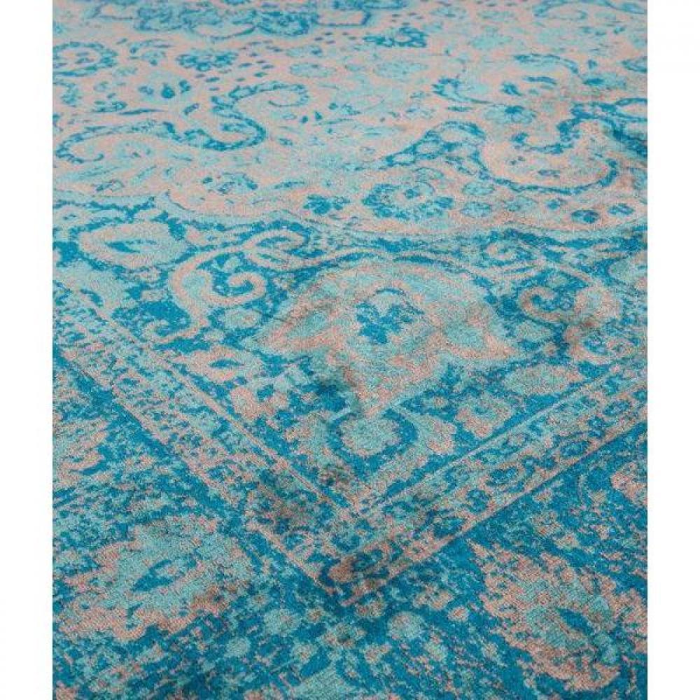 d corations d coration et accessoires tapis style persan canon bleu 160 x 230 cm inside75. Black Bedroom Furniture Sets. Home Design Ideas