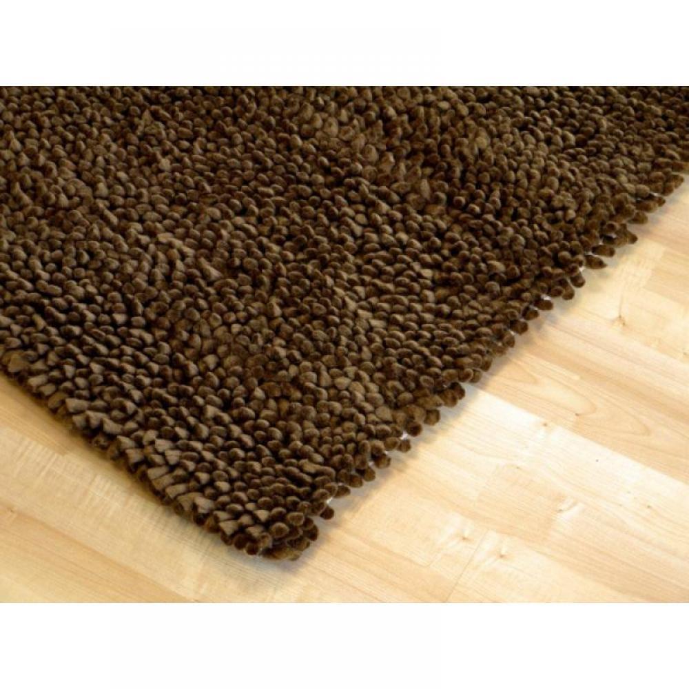 tapis de sol meubles et rangements venice tapis pais marron inside75. Black Bedroom Furniture Sets. Home Design Ideas