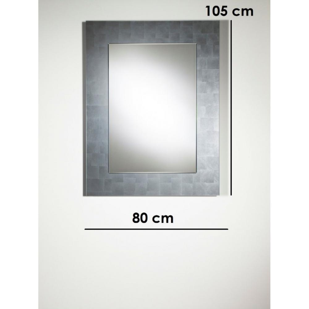 Miroirs meubles et rangements tellem miroir mural design en verre moyen mod - Miroir design belgique ...