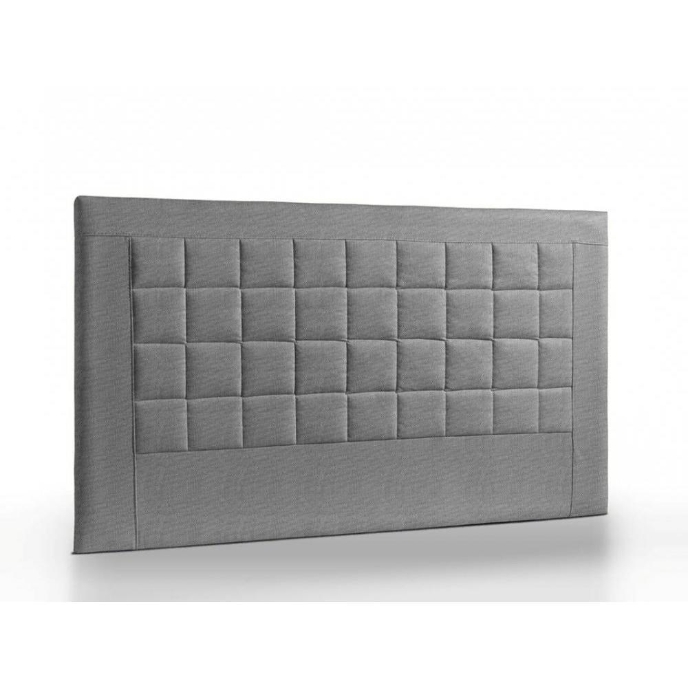 t te de lit au meilleur prix t te de lit matelass e haut de gamme apollo 145cm cuir recycl. Black Bedroom Furniture Sets. Home Design Ideas