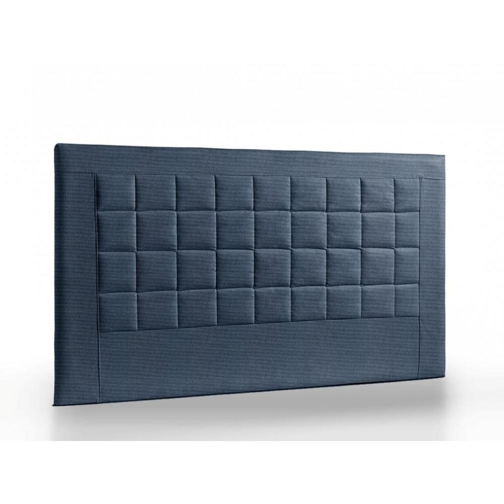 t te de lit au meilleur prix t te de lit matelass e haut de gamme apollo 165 cm cuir recycl. Black Bedroom Furniture Sets. Home Design Ideas