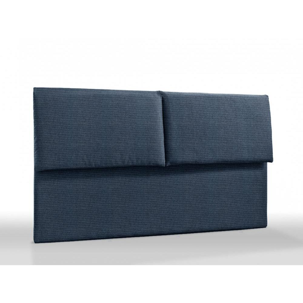 t tes de lits chambre literie t te de lit haut de gamme royal 145 cm avec coussins rabats. Black Bedroom Furniture Sets. Home Design Ideas