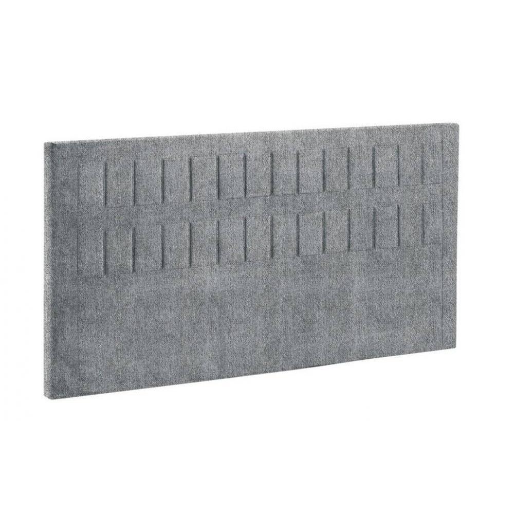 BULTEX Tête de lit  STROMBOLI chiné gris flanelle