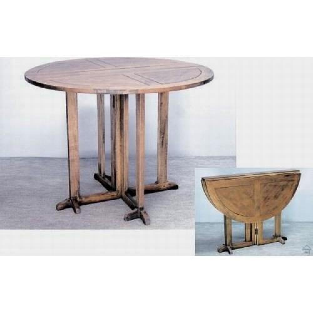 tables modulables tables et chaises table repas tha rabats en h v a teint fonc inside75. Black Bedroom Furniture Sets. Home Design Ideas