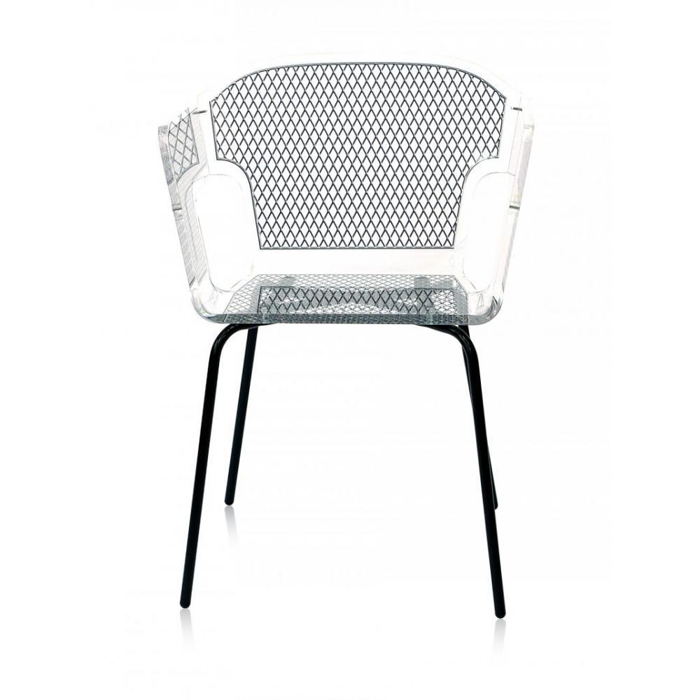 fauteuils et poufs meubles et rangements alnoor tressera fauteuil design acrila en plexiglass. Black Bedroom Furniture Sets. Home Design Ideas