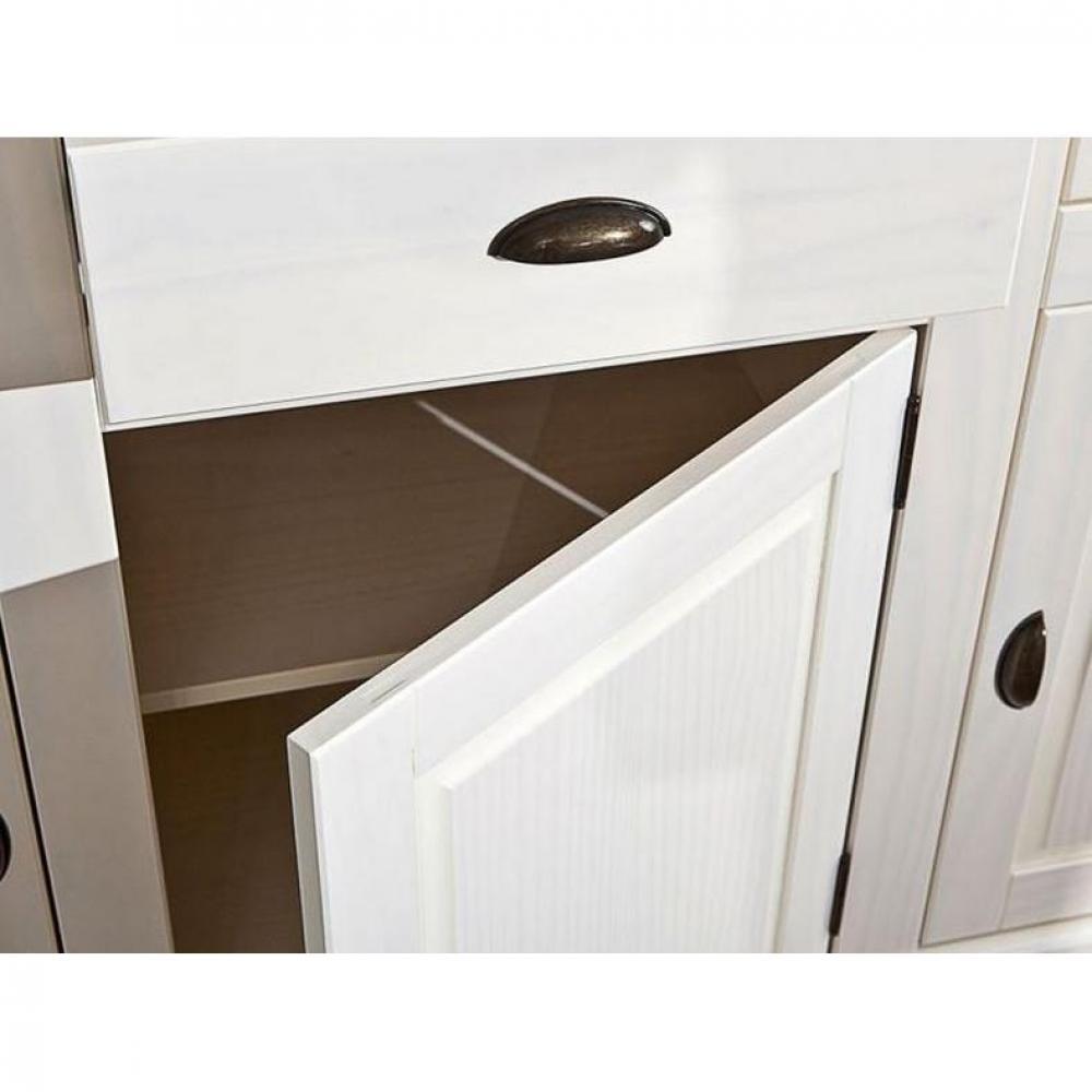 Vaisselier CASSALA en pin massif 3 tiroirs et 6 portes