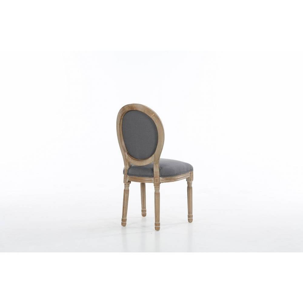 Chaise design ergonomique et stylis e au meilleur prix for Chaise medaillon louis xvi