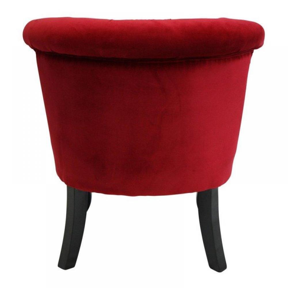 Canap chesterfield en cuir velour au meilleur prix fauteuil capitonn design versailles - Canape rouge bordeaux ...