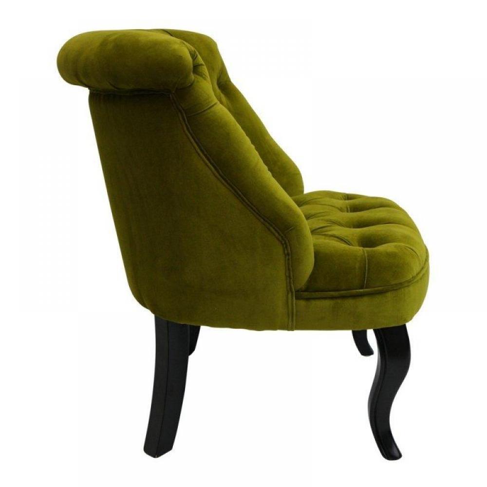 Tapis de sol meubles et rangements fauteuil capitonn - Fauteuil crapaud vert ...
