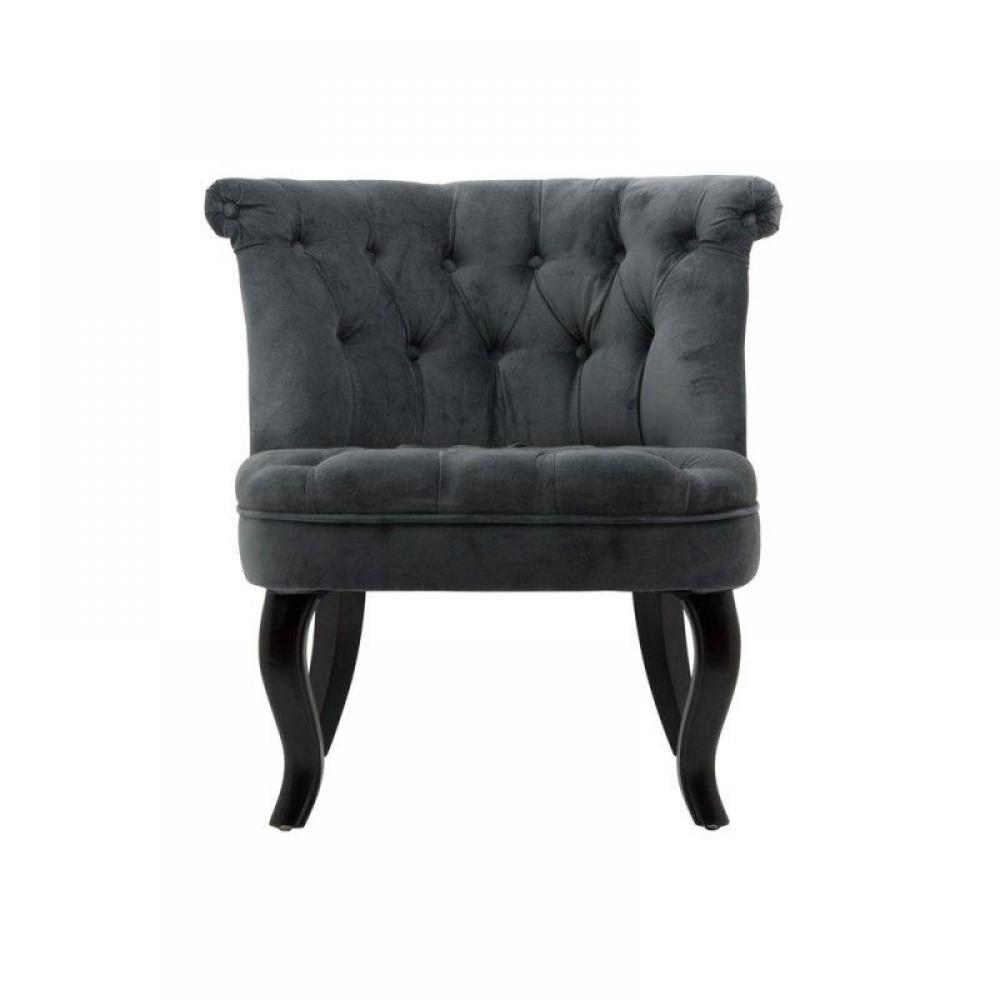 canap s chesterfield canap s rapido fauteuil captionn versailles velours gris inside75. Black Bedroom Furniture Sets. Home Design Ideas