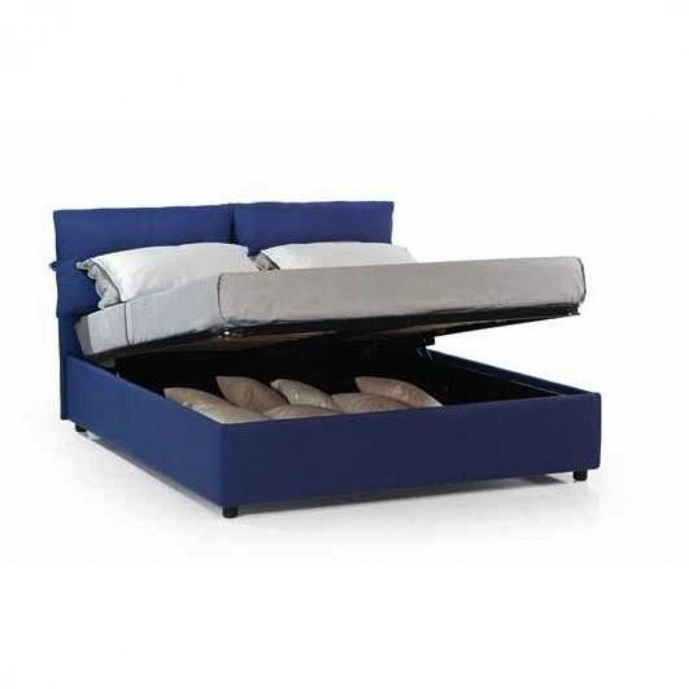 lits coffres chambre literie lit coffre design vittoria couchage 160 200cm inside75. Black Bedroom Furniture Sets. Home Design Ideas