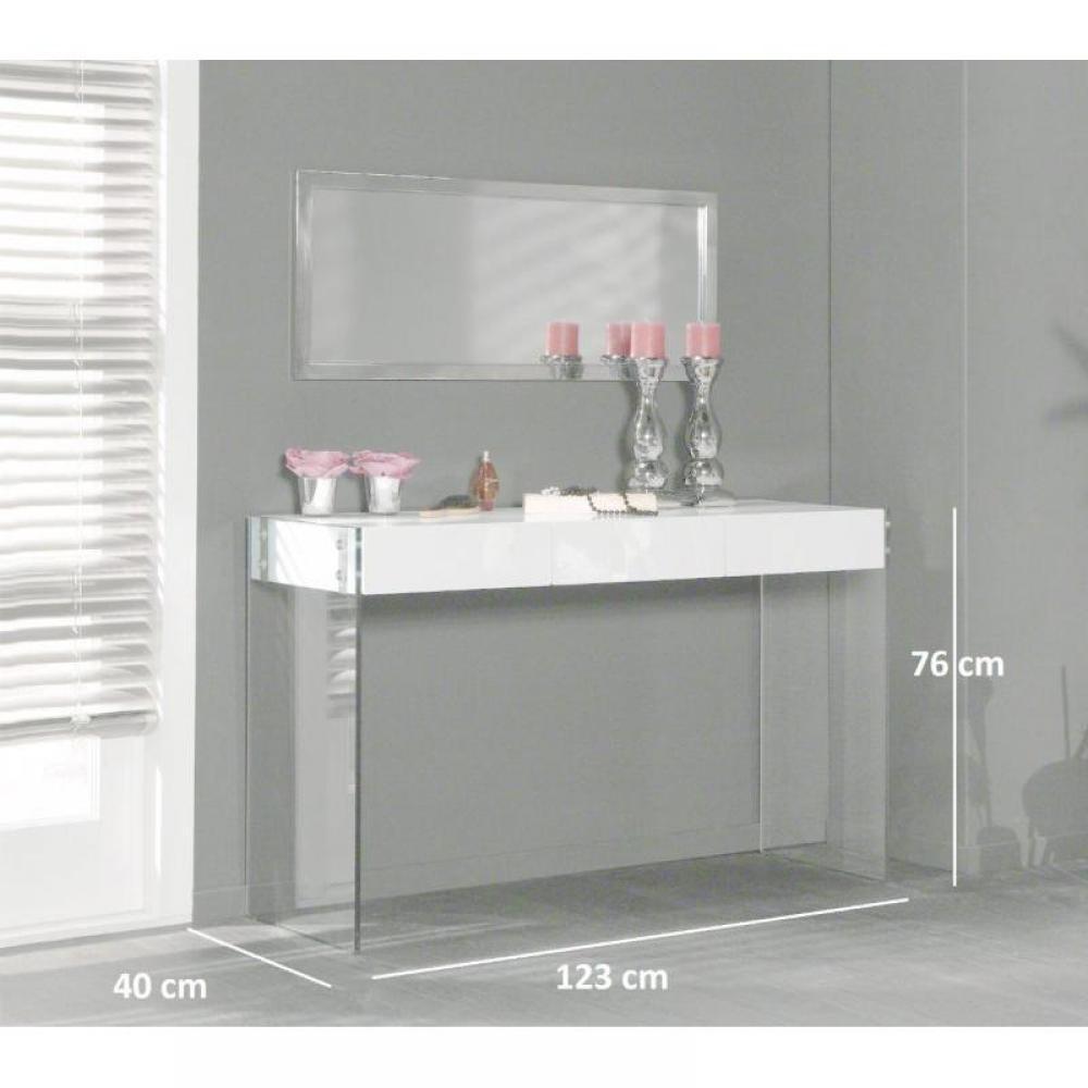 console design ultra tendance au meilleur prix white console laqu 233 e blanc brillant avec