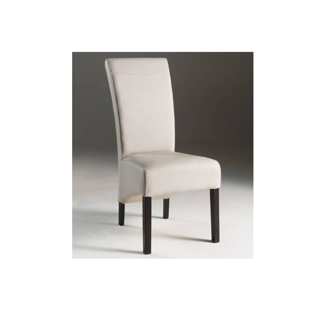 Chaise design ergonomique et stylis e au meilleur prix for Chaise blanche et bois design