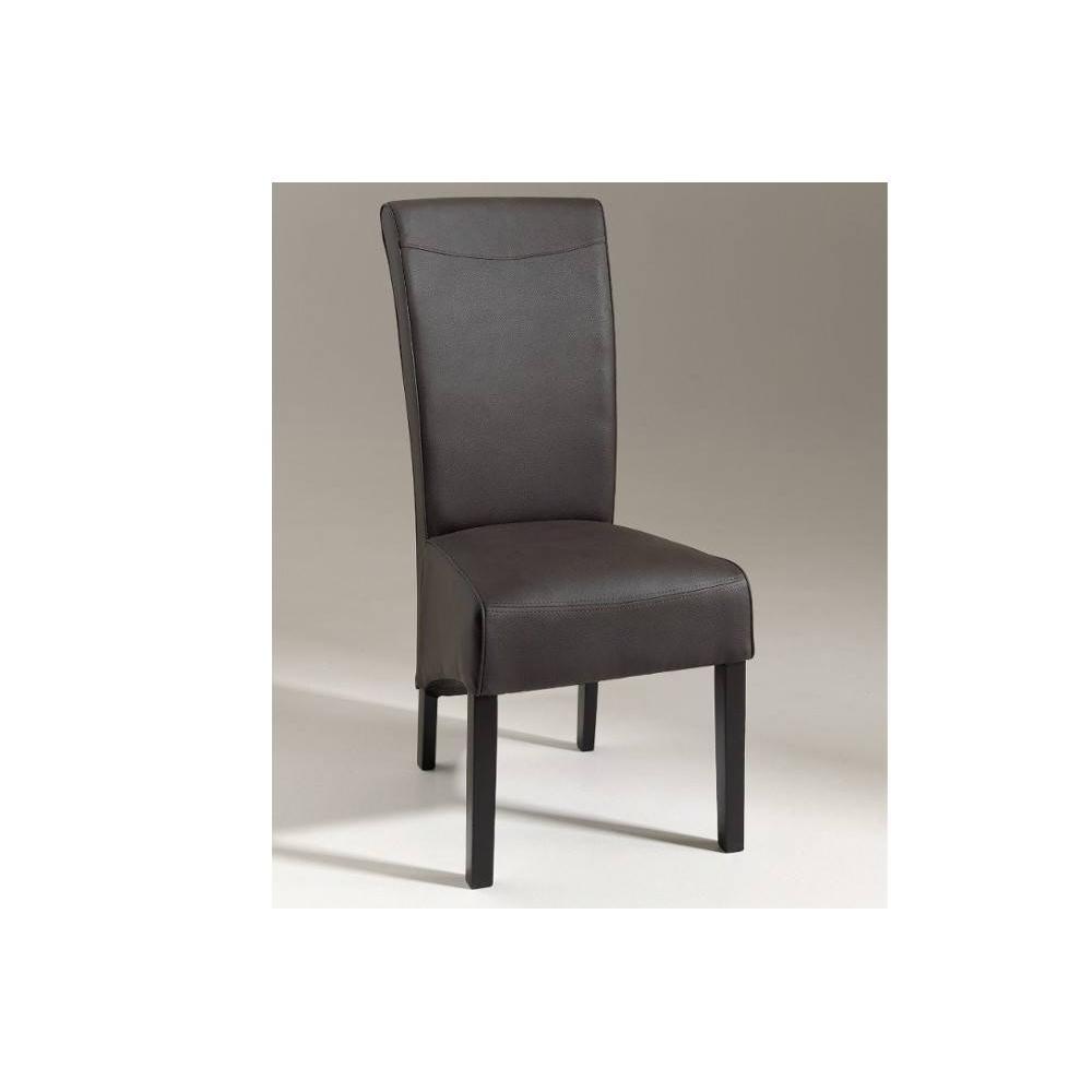 Chaise dossier haut finest housse de chaise hauteur for Chaise dossier haut