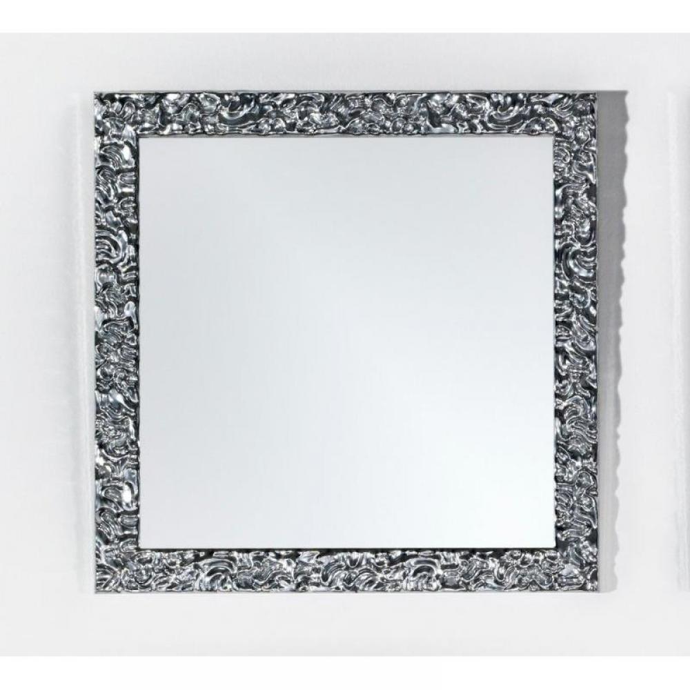 Miroirs meubles et rangements xian miroir mural en bois for Miroir design belgique