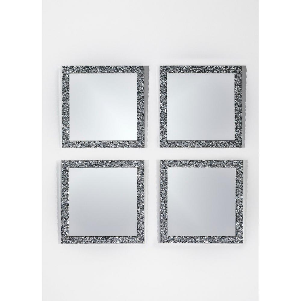Miroirs meubles et rangements xian miroir mural en bois for Technique du miroir
