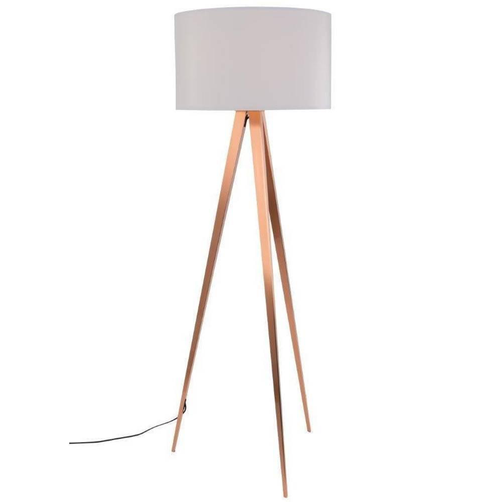 Chaises meubles et rangements zuiver lampadaire tripod for Miroir tripod