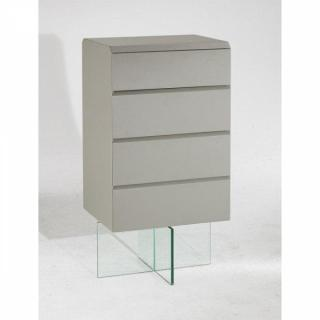 Commodes meubles et rangements androm de commode design 4 tiroirs couleur t - Commode couleur taupe ...