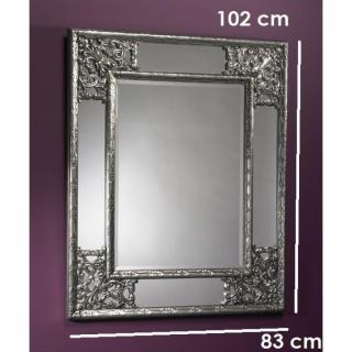 Miroirs luminaires ANGEL Miroir mural design argenté