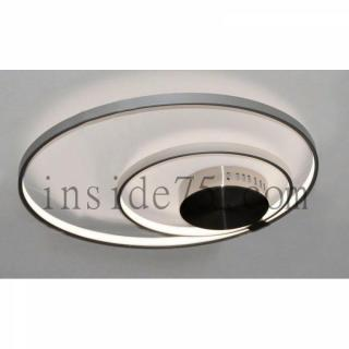 Plafonnier 2 anneaux LED 30W