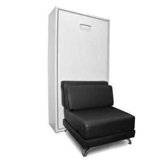 Armoire lit escamotable TOWN canapé intégré couchage 90 * 200cm