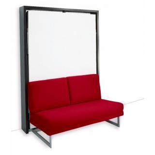 Armoire lit verticale MAGIC canapé intégré